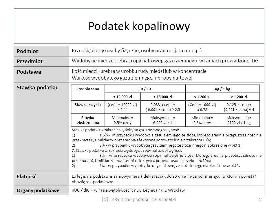[6] ODG: Inne podatki i parapodatki